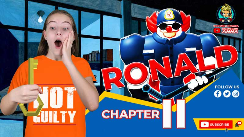ROBLOX RONALD CHAPTER 2 in Prison || PC GAMING SHOW WITH ANNA