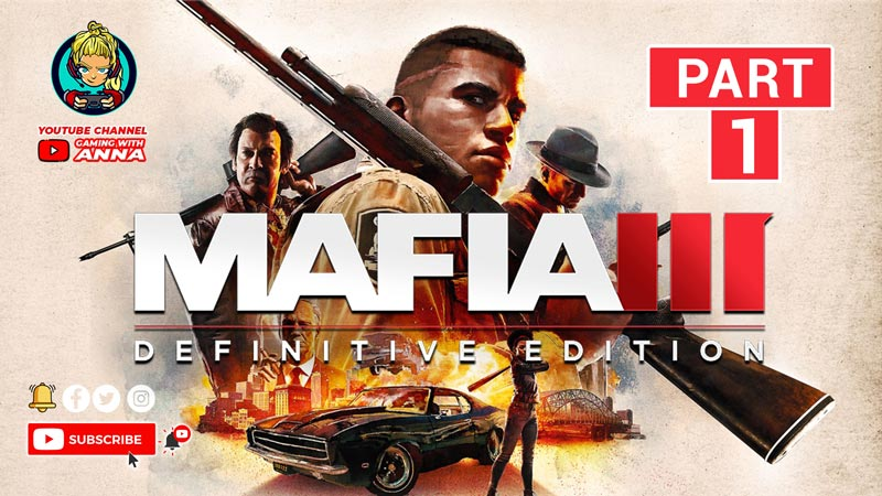 Mafia III Definitive Edition Gameplay PC | Part 1 – Heist